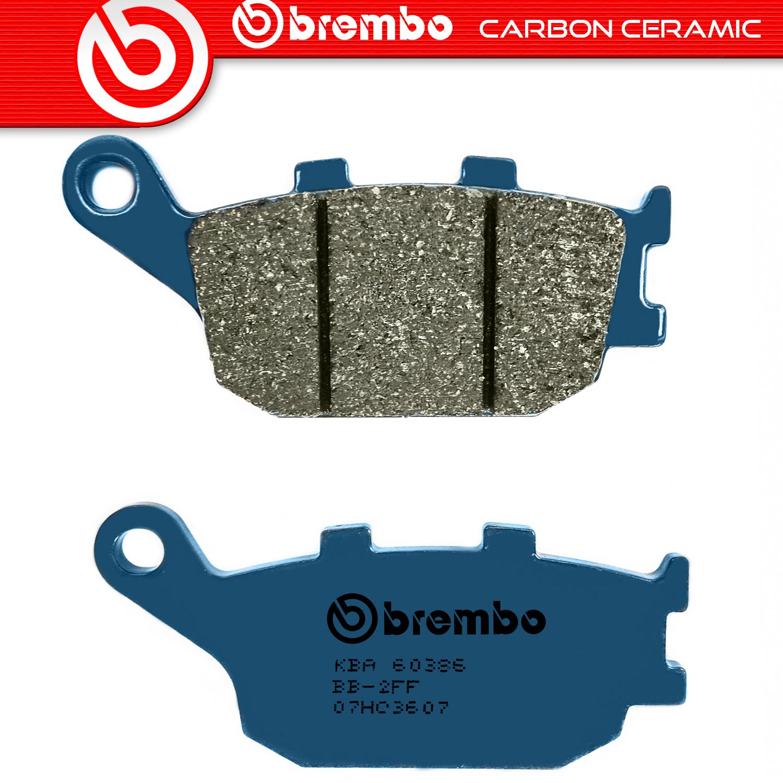 2016-2017 YAMAHA XSR900 REAR CERAMIC CARBON BRAKE PADS 1 PAIR