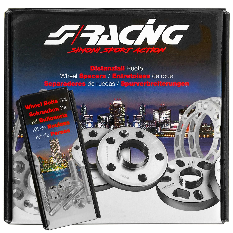Coppia Distanziali Bulloni Simoni Racing Spessore 17,5MM Alfa Giulietta 2010/>