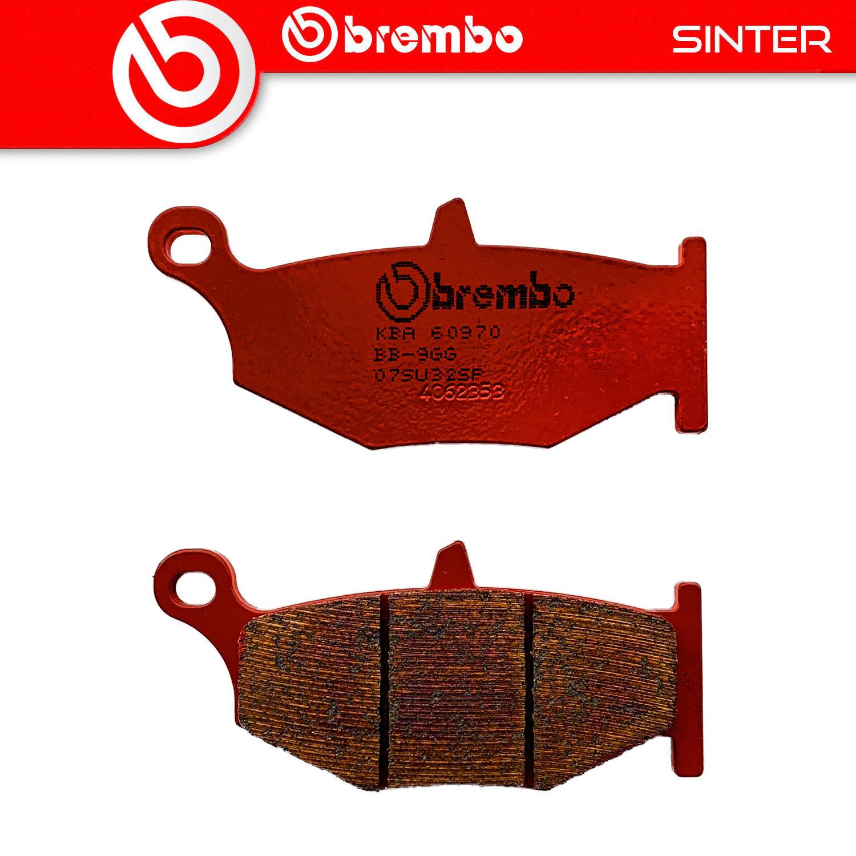 Brembo SP Sintered Rear Brake Pads Suzuki GSXR750 L1-L6 2013