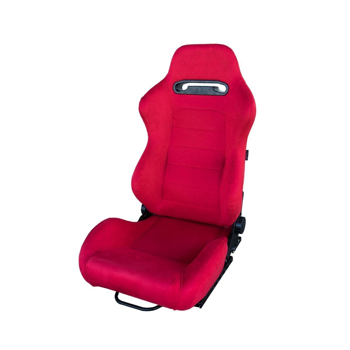 Casa Del Sedile Snc.Sedile Sportivo Miky Reclinabile Velluto Rosso Slitte Universali Simoni Racing Ebay