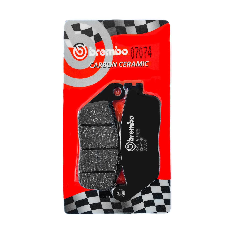 PASTIGLIE FRENO ANTERIORI BREMBO CARBON 07096 KYMCO DOWNTOWN i-ABS 200-300 2010